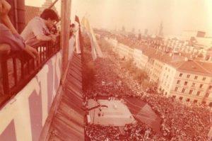Warschau, Besuch von Johannes Paul II. 1979